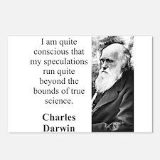 I Am Quite Conscious - Charles Darwin Postcards (P