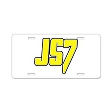 js7js7 Aluminum License Plate