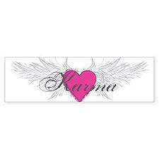 My Sweet Angel Karma Bumper Sticker