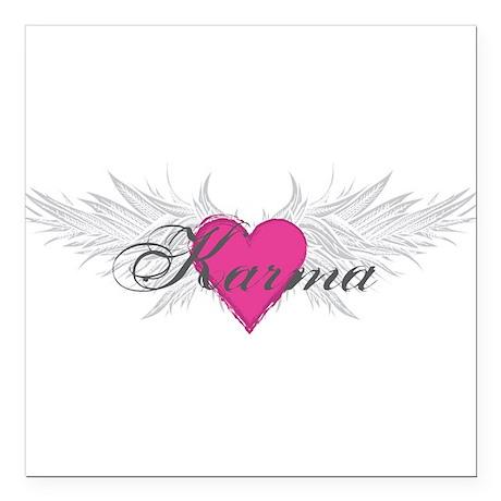 "My Sweet Angel Karma Square Car Magnet 3"" x 3"""