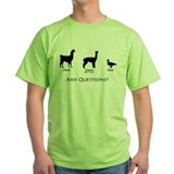 Llama Green T-Shirt