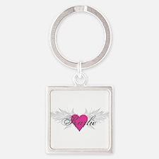 My Sweet Angel Karlie Square Keychain