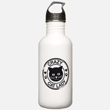 Crazy Cat Lady Water Bottle