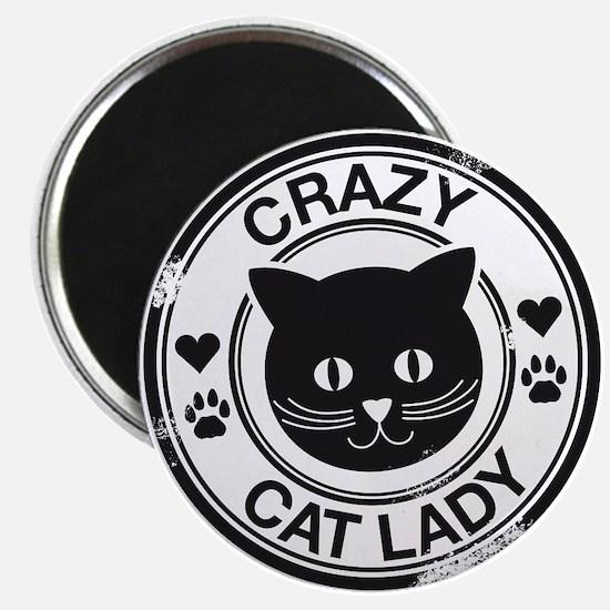 Crazy Cat Lady Magnet
