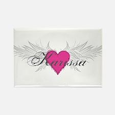 My Sweet Angel Karissa Rectangle Magnet