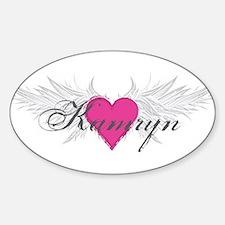 My Sweet Angel Kamryn Sticker (Oval)
