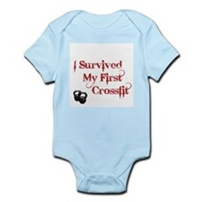 Crossfit Survivor Infant Bodysuit