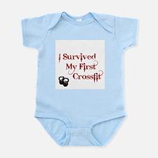Crossfit Survivor Infant Bodysuit