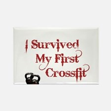 Crossfit Survivor Rectangle Magnet