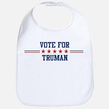 Vote for TRUMAN Bib