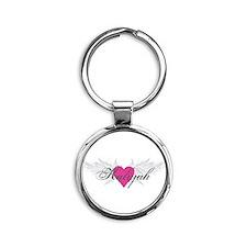 My Sweet Angel Kaliyah Round Keychain