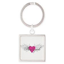 My Sweet Angel Kaliyah Square Keychain