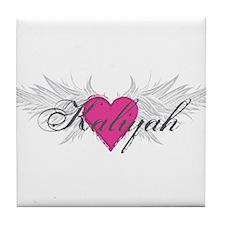 My Sweet Angel Kaliyah Tile Coaster