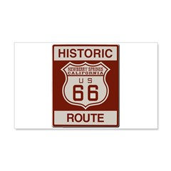 Newberry Springs Route 66 Wall Decal