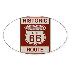Newberry Springs Route 66 Decal