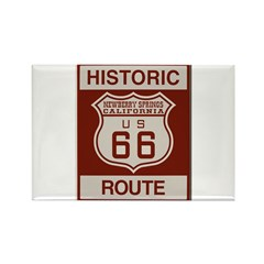 Newberry Springs Route 66 Rectangle Magnet (100 pa