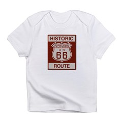 Newberry Springs Route 66 Infant T-Shirt