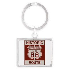 Newberry Springs Route 66 Landscape Keychain
