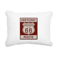 Newberry Springs Route 66 Rectangular Canvas Pillo
