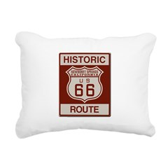 Newberry Springs Route 66 Rectangular Canvas Pillo