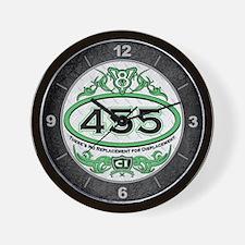 455 Engine Wall Clock