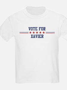 Vote for XAVIER Kids T-Shirt