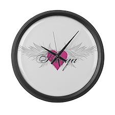 My Sweet Angel Kaiya Large Wall Clock