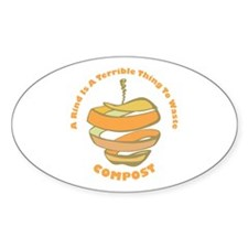 Rind Oval Bumper Stickers