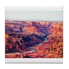 Grand Canyon Landscape Photo Tile Coaster