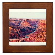 Grand Canyon Landscape Photo Framed Tile