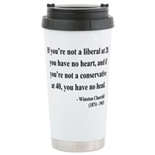 Cute Anti right wing extremist Travel Mug