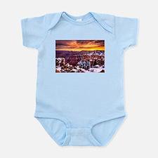 Grand Canyon Landscape at Sunrise Infant Bodysuit