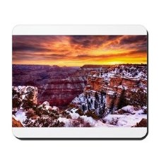 Grand Canyon Landscape at Sunrise Mousepad