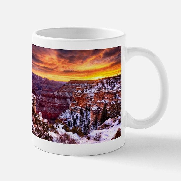 Grand Canyon Landscape at Sunrise Mug