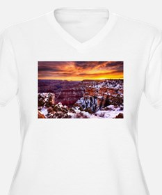 Grand Canyon Landscape at Sunrise T-Shirt