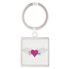 My Sweet Angel Kaia Square Keychain