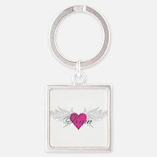 My Sweet Angel Kaia Square Keychain