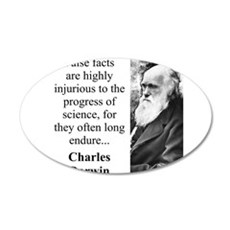 False Facts - Charles Darwin Wall Decal