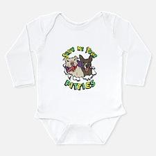 Show Me your Pitties Long Sleeve Infant Bodysuit