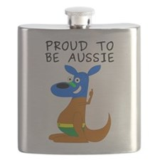 proud to be aussie Flask