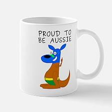 proud to be aussie Mug