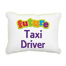 Future Taxi Driver Rectangular Canvas Pillow