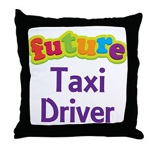 Future Taxi Driver Throw Pillow
