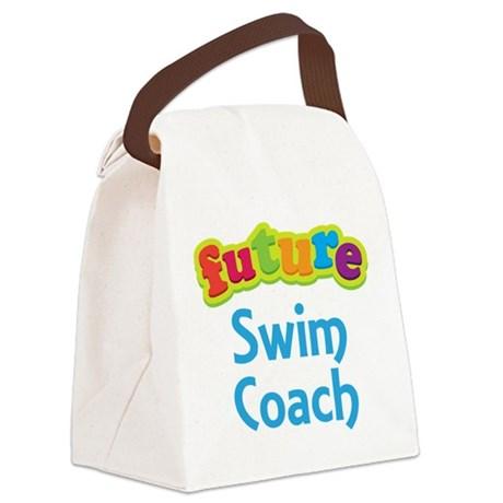 Future Swim Coach Canvas Lunch Bag
