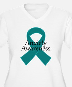 Anxiety Awareness Ribbon T-Shirt