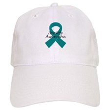 Anxiety Awareness Ribbon Baseball Cap