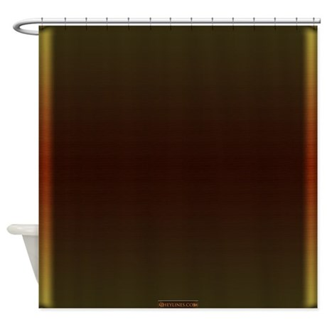 Good Bronze Home Collection Shower Curtain