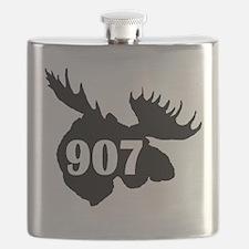 907 Moose Head Flask