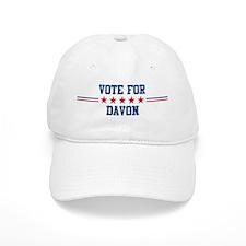 Vote for DAVON Baseball Cap