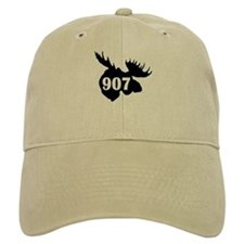 907 Moose Head Baseball Cap